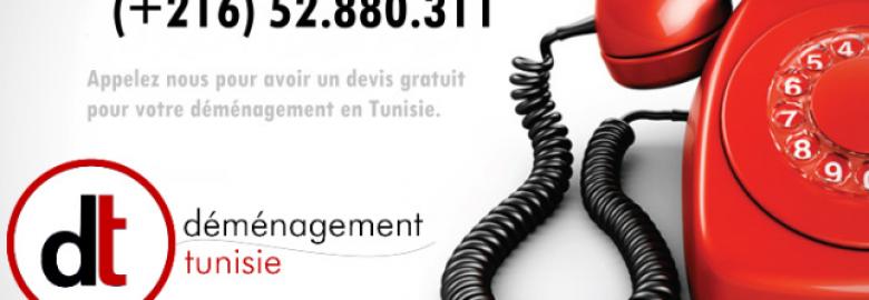 Déménagement Tunisie DT