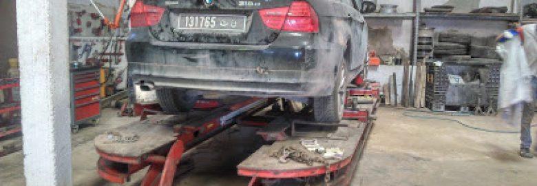 Sotra.automobiles.tunis spécialisé.dans la réparation des autos gravement accidentées